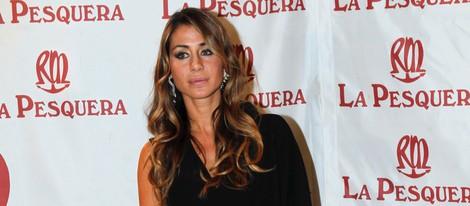 Elena Tablada en la entrega de los Premios La Pesquera 2014