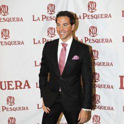 David Meca en la entrega de los Premios La Pesquera 2014