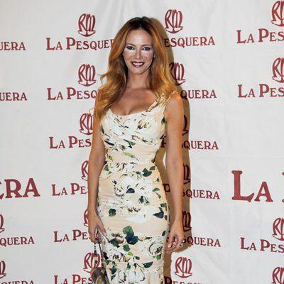 Paula Vázquez en la entrega de los Premios La Pesquera 2014