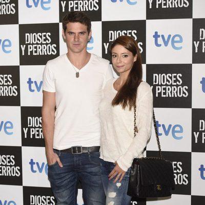 Gonzalo Ramos y Sofía Escobar en el estreno de 'Dioses y Perros'