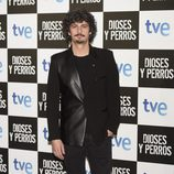Antonio Pagudo en el estreno de 'Dioses y Perros'