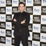 Asier Etxeandía en el estreno de 'Dioses y Perros'