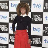 Mary Ruiz en el estreno de 'Dioses y Perros'