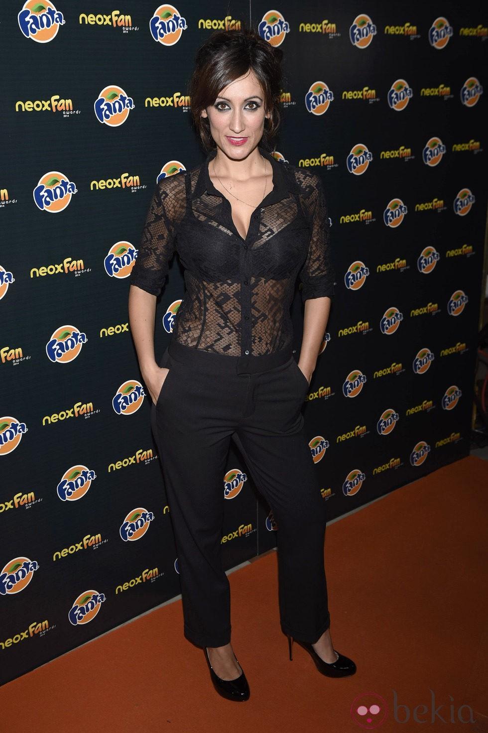 Ana Morgade en los Neox Fan Awards 2014 - Neox Fan Awards ...