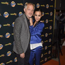 Megan Montaner y Jordi Rebellón en los Neox Fan Awards 2014