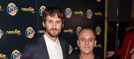 Javier Gutiérrez y Raúl Arévalo en los Neox Fan Awards 2014