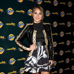 Lucía Gil en los Neox Fan Awards 2014
