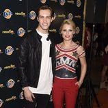Soraya Arnelas y Miguel Herrera en los Neox Fan Awards 2014