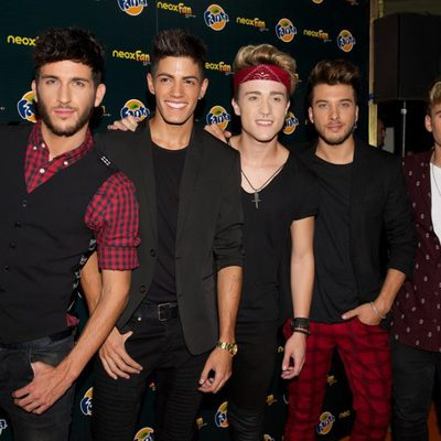 Auryn en los Neox Fan Awards 2014
