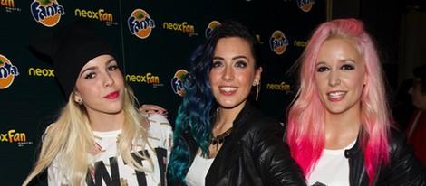 Sweet California en los Neox Fan Awards 2014