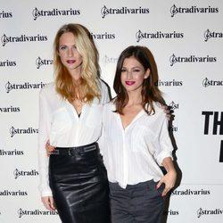 Poppy Delevingne y Úrsula Corberó en la fiesta 'The Event Paper' de Stradivarius