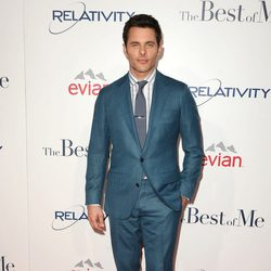 James Marsden en la premiere de 'The Best of Me' de Los Ángeles