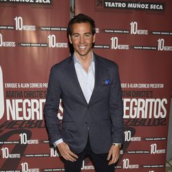 David Meca en el estreno de 'Diez Negritos'