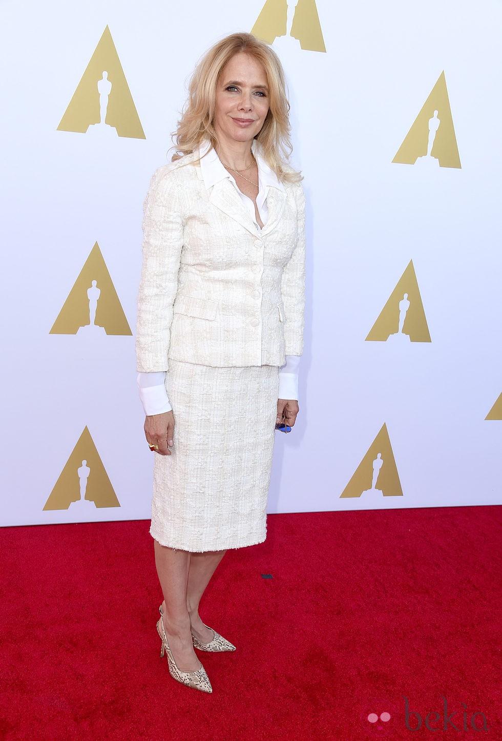 Rosanna Arquette en una fiesta organizada por la exposición Hollywood Costume