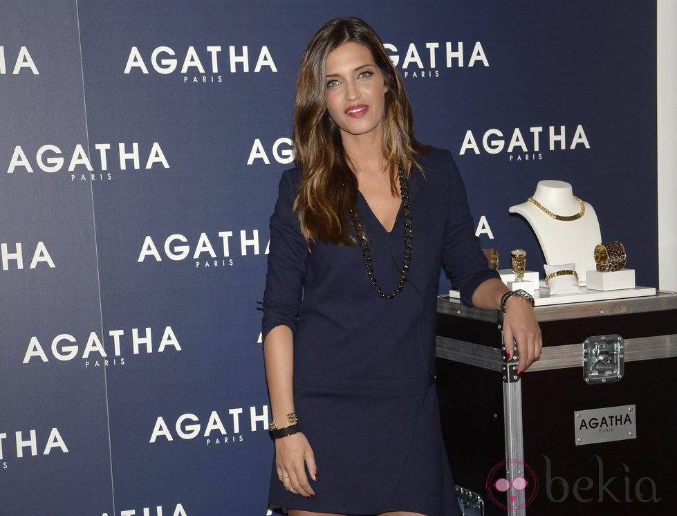 Sara Carbonero, nombrada embajadora de Agatha Paris