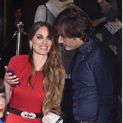 Vanesa Romero y Alberto Caballero en el estreno de la octava temporada de 'La que se avecina'