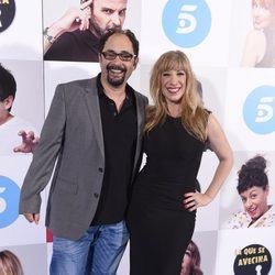 Nathalie Seseña y Jordi Sánchez en el estreno de la octava temporada de 'La que se avecina'