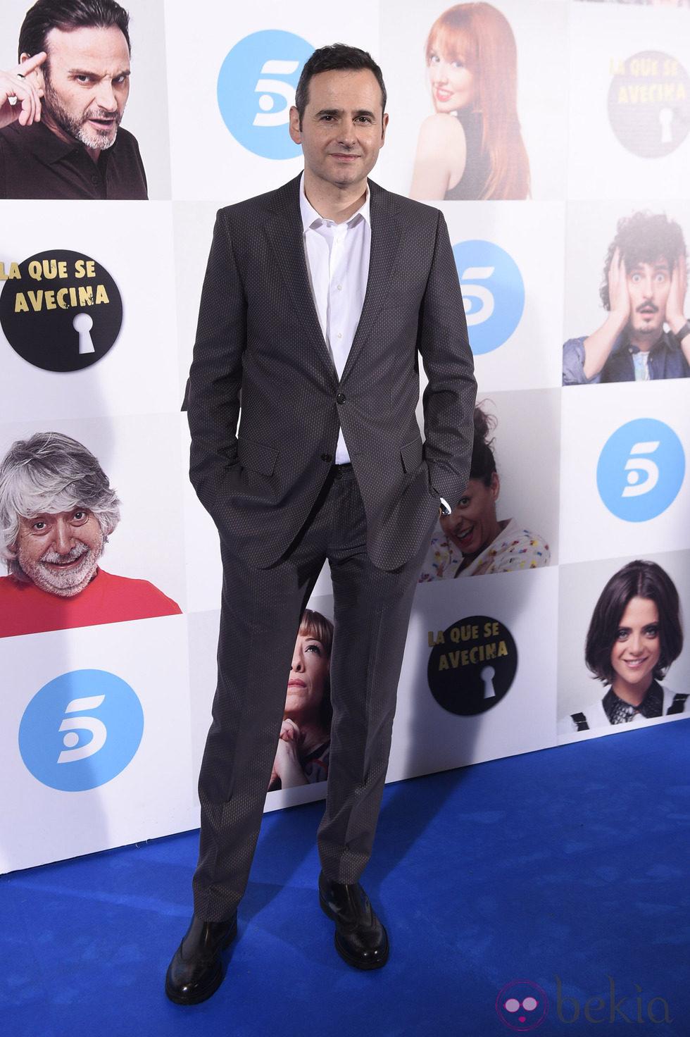 Luis Miguel Seguí en el estreno de la octava temporada de 'La que se avecina'
