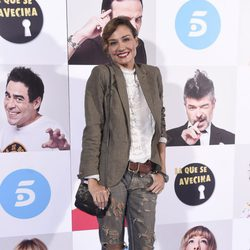 Juncal Rivero en el estreno de la octava temporada de 'La que se avecina'