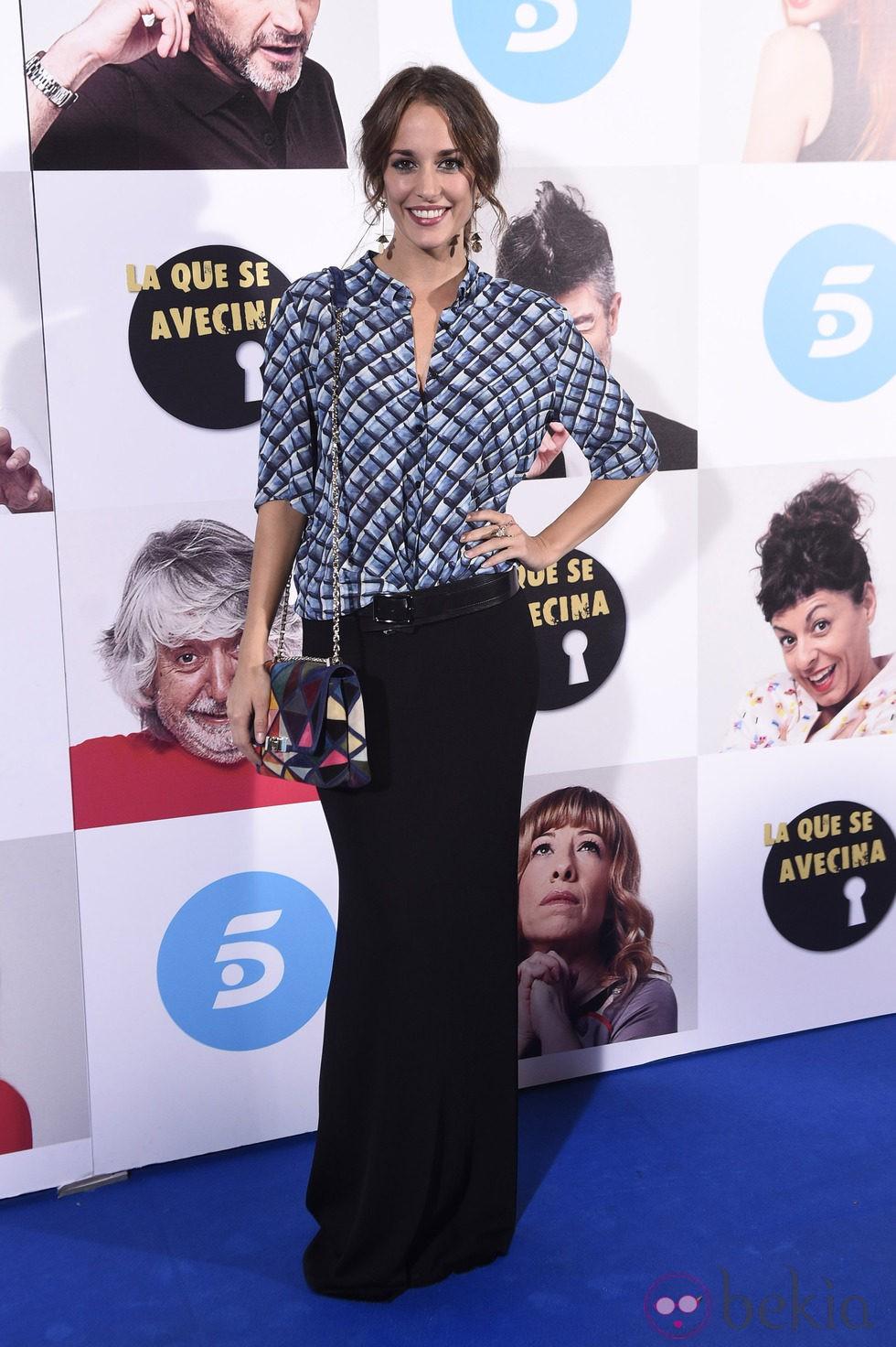 Silvia Alonso en el estreno de la octava temporada de 'La que se avecina'