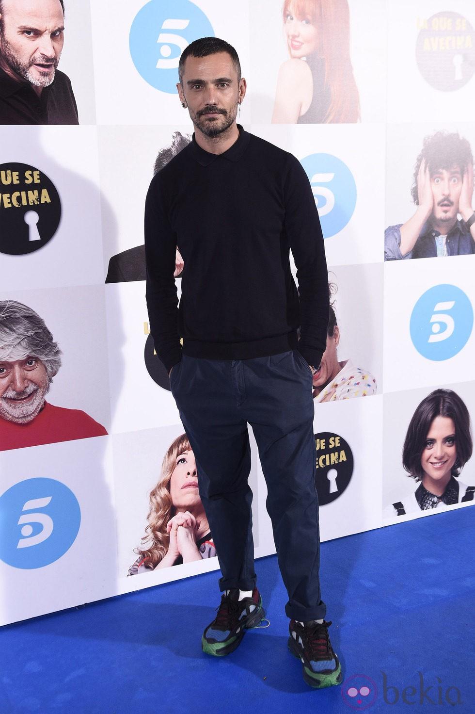 David Delfín en el estreno de la octava temporada de 'La que se avecina'