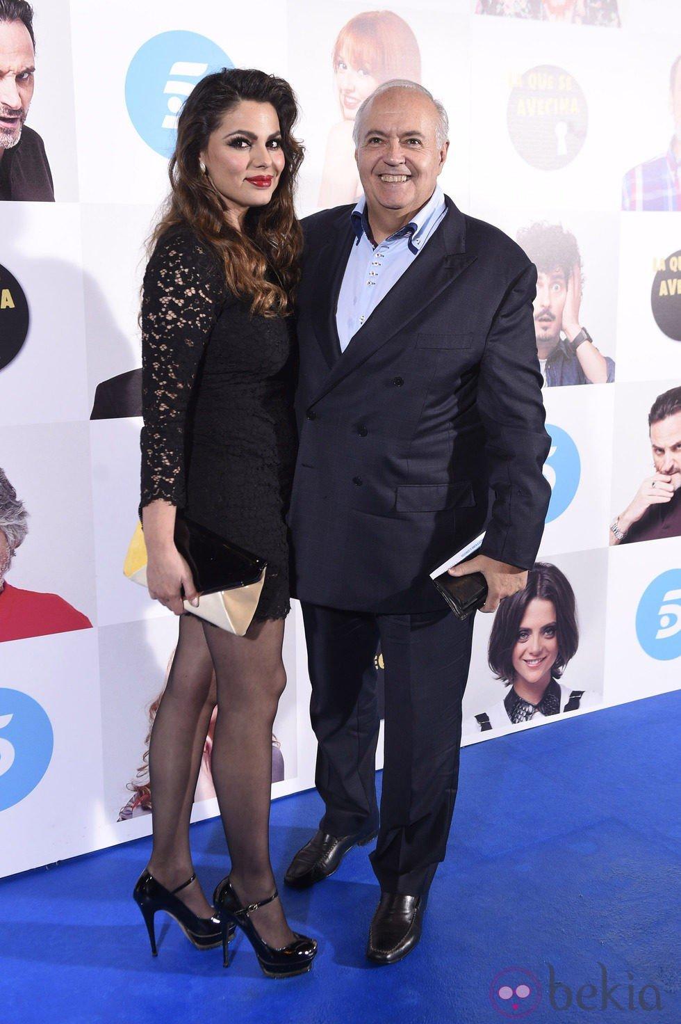 José Luis Moreno y Marisa Jara en el estreno de la octava temporada de 'La que se avecina'