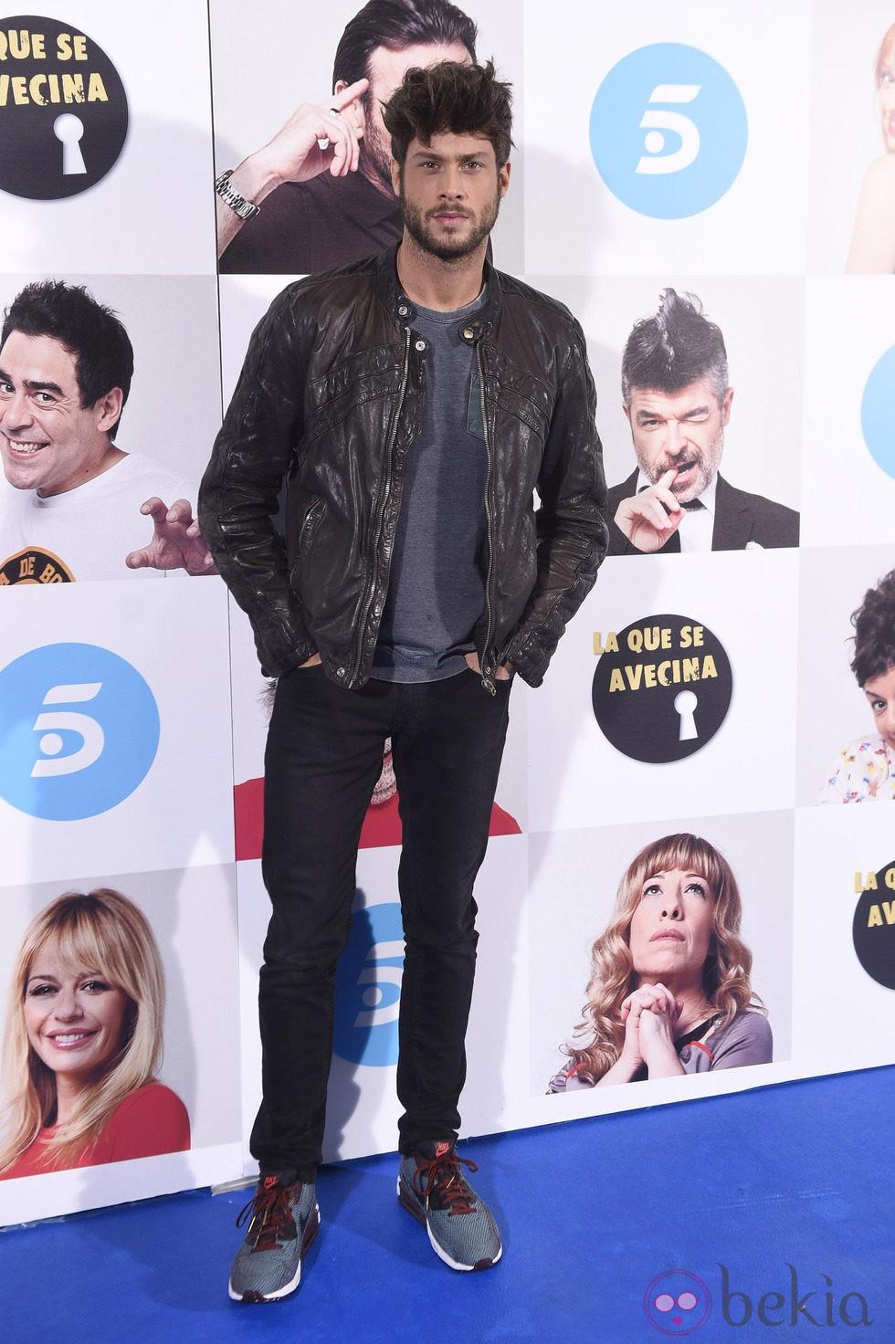 José Lamuño en el estreno de la octava temporada de 'La que se avecina'