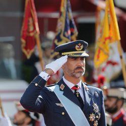 Felipe VI en su primer Día de la Hispanidad como Rey de España