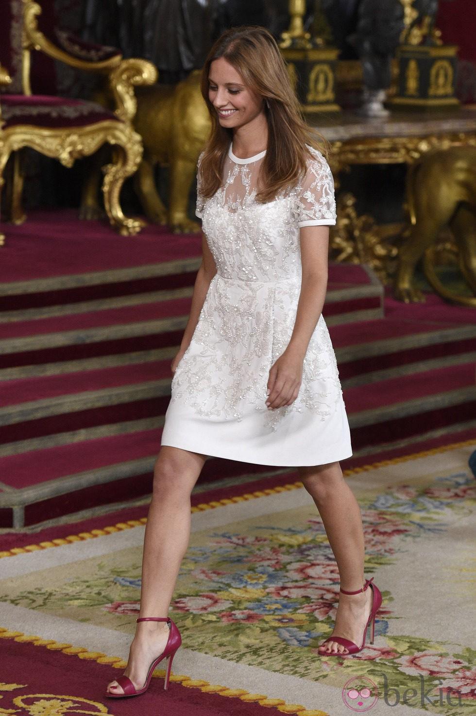 Michelle Jenner en la recepción del Día de la Hispanidad 2014