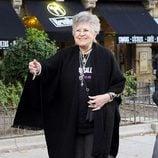 Pilar Bardem en la manifestación contra la ley Lasalle