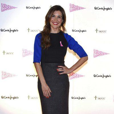 Raquel Sánchez Silva en un evento solidario contra el cáncer de mama