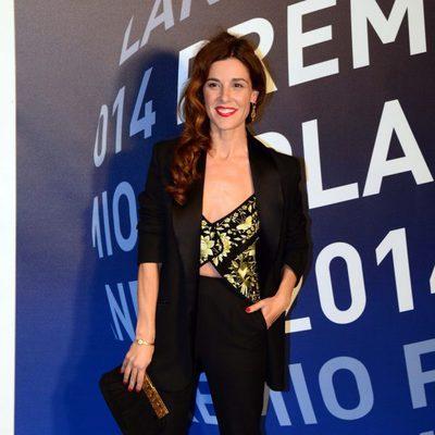Raquel Sánchez Silva en la entrega del Premio Planeta 2014