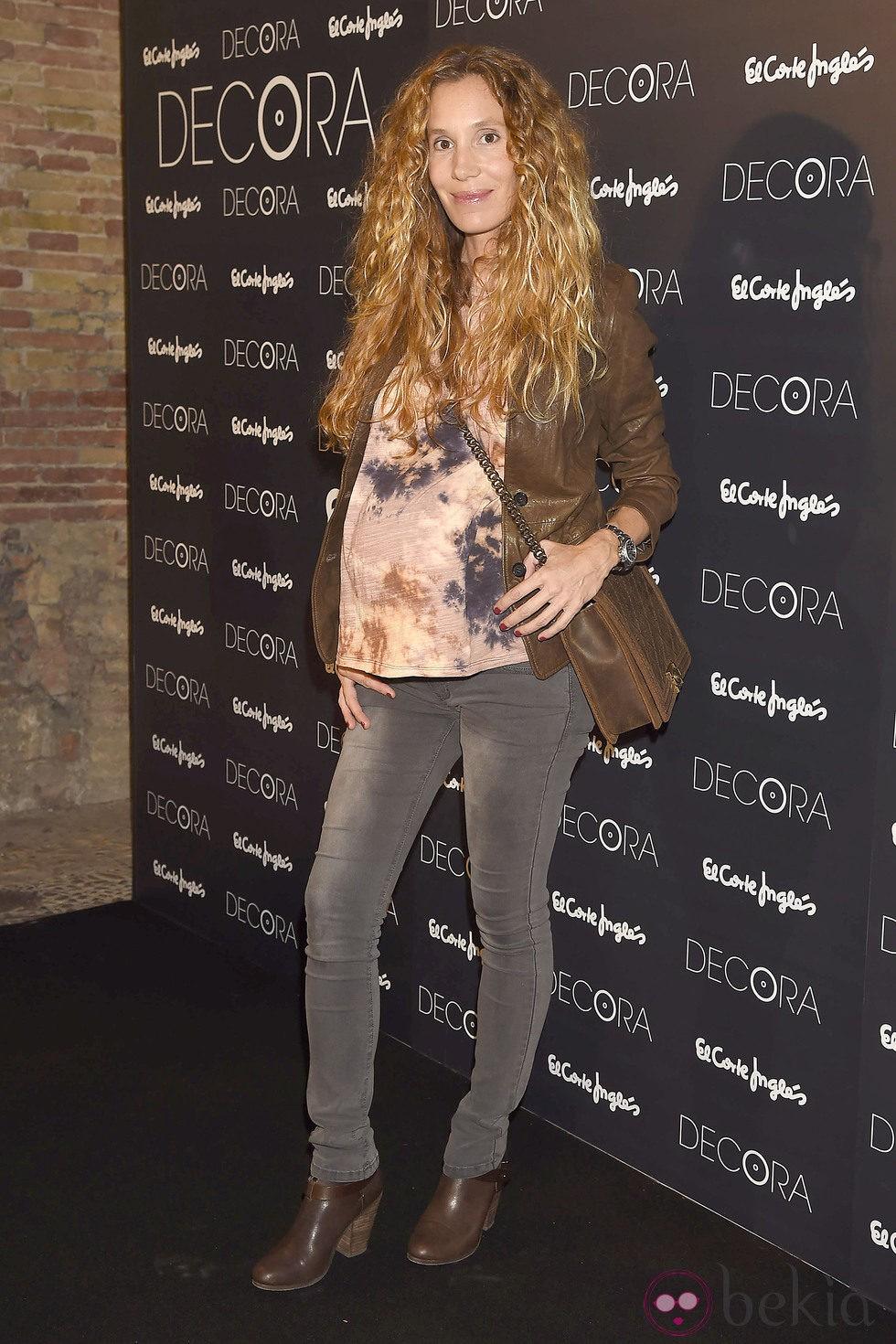 Blanca Cuesta luce su cuarto embarazo en un acto en Valencia - Foto ...
