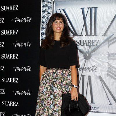 Nuria Roca en la fiesta de presentación de un reloj