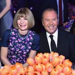 Anna Wintour y Michael Kors en los Golden Heart Awards 2014
