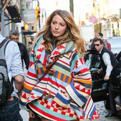 Blake Lively pasea su embarazo por Nueva York