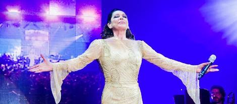 Isabel Pantoja en el que podría ser su último concierto antes de entrar en la cárcel