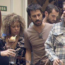 Hugo Silva y Mary Ruiz en la fiesta de aniversario de un hotel