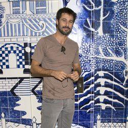 Hugo Silva en la fiesta de aniversario de un hotel