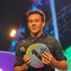 Tom Daley en los Teen Awards 2014