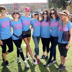 Famosas en la carrera contra el ELA celebrada en Los Ángeles