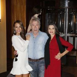 Paula Echevarría, José Sacristán y Ángela Molina en la presentación de la segunda temporada de 'Velvet'