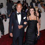 Oscar de la Renta con Penélope Cruz