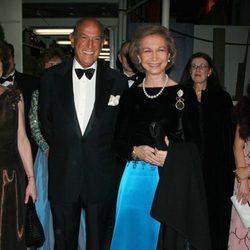 Oscar de la Renta con la Reina Sofía