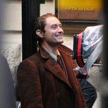 Jude Law en el rodaje de 'Genius' en Manchester
