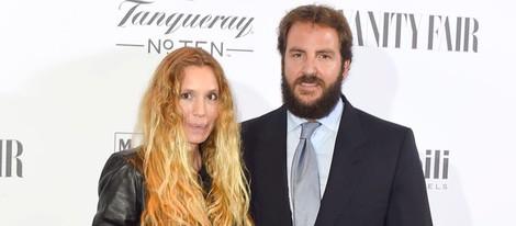 Borja Thyssen y Blanca Cuesta en la inauguración de la exposición Hubert de Givenchy en el Museo Thyssen