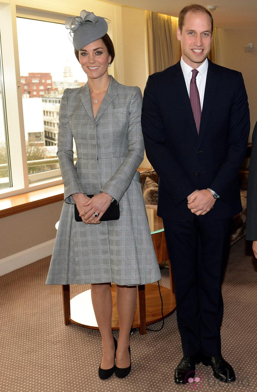 Kate Middleton reaparece tras anunciar su segundo embarazo junto al Príncipe Guillermo