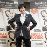 Concha Velasco presenta 'Olivia y Eugenio' en Madrid