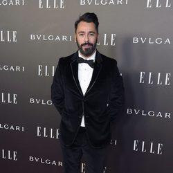 Juanjo Oliva en los Elle Style Awards 2014