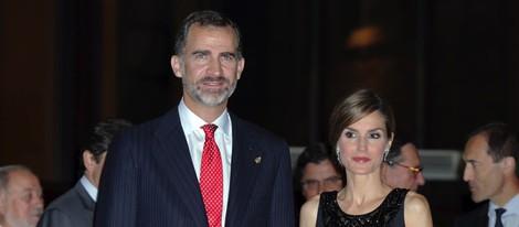 Los Reyes Felipe y Letizia presiden el concierto previo a los Premios Príncipe de Asturias 2014